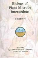 Biology of plant-microbe interactions by International Congress on Molecular Plant-Microbe Interactions