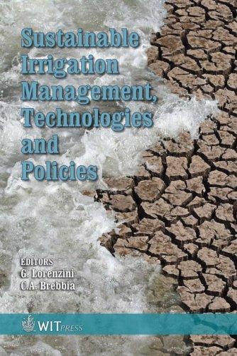 Sustainable irrigation management, technologies and policies by