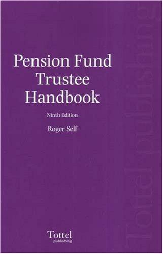 Pension Fund Trustee Handbook