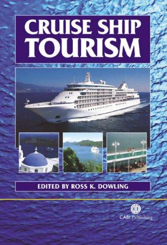 Cruise ship tourism by