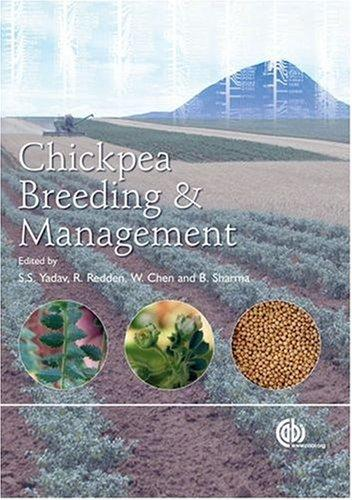 Chickpea breeding and management by
