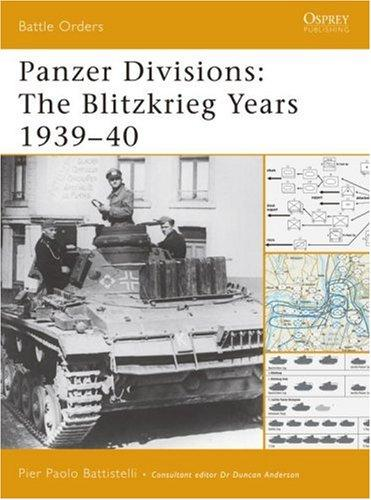 Panzer Divisions by Pier Battistelli