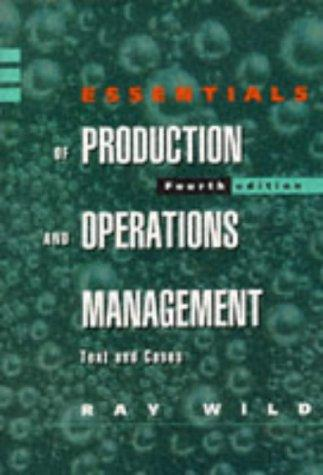 Essentials of Production and Operations Management