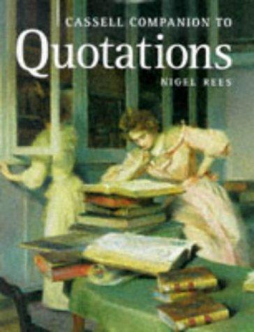 Image 0 of Cassell Companion to Quotations