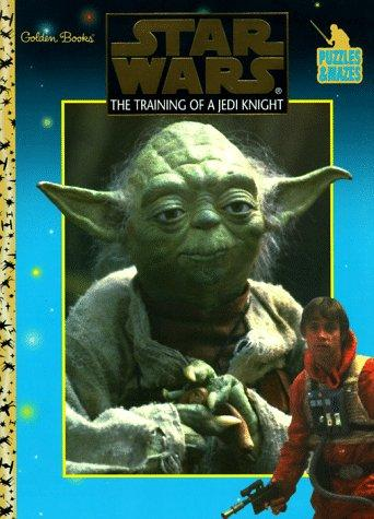 The Training of a Jedi Knight (Puzzles & Mazes) by Golden Books