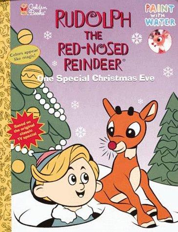 One Special Christmas Eve (Paint with Water) by Golden Books
