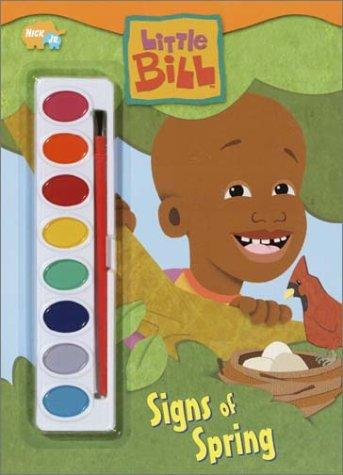 Signs of Spring (Paint Box Book) by Golden Books