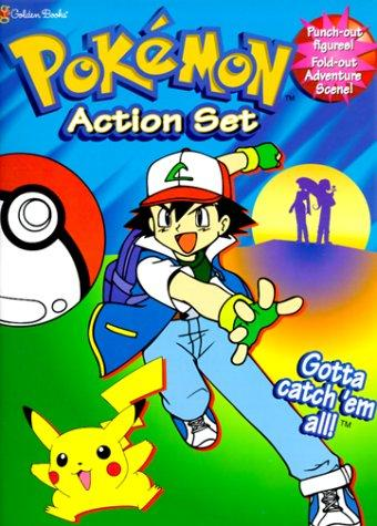 Pokemon Action Set (Play Set) by Golden Books