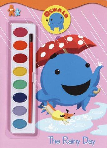 The Rainy Day (Paint Box Book) by Golden Books