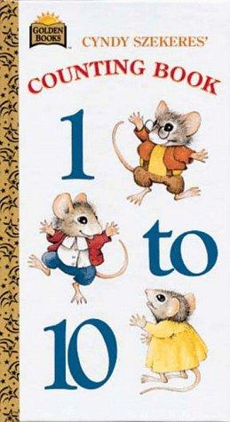Counting Book 1 to 10 by Golden Books