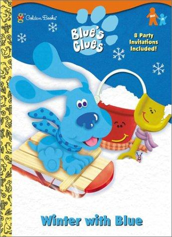 Winter with Blue by Golden Books