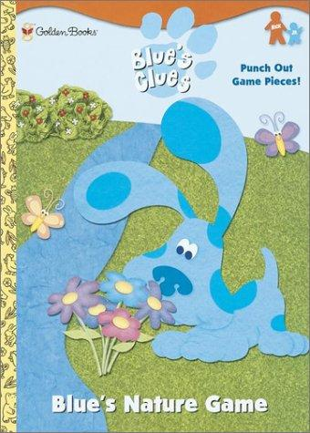 Blue's Nature Game (Press-out Activity Book) by Golden Books