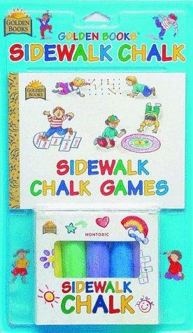 Sidewalk Chalk Games by Golden Books