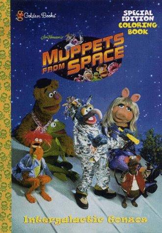 Muppets From Space by Golden Books