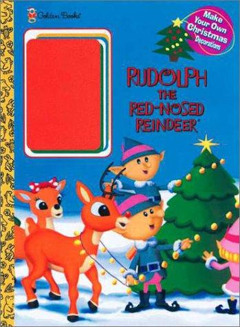 Rudolph Make Your Own Ornament by Golden Books