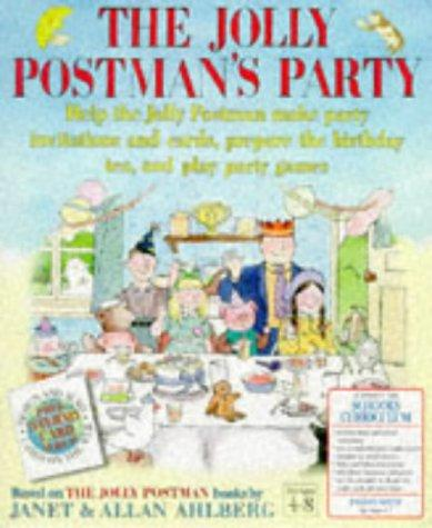 Jolly Postmans Party by Janet Ahlberg, Allan Ahlberg