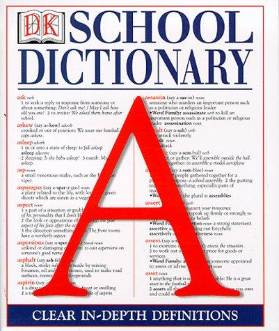 Dorling Kindersley School Dictionary (DK Reference Library) by Ludwig Bemelmans