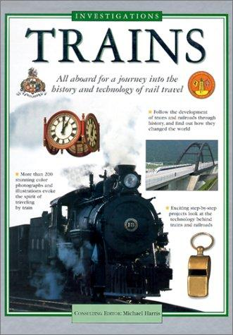 Trains (Investigations) by Jackie Gaff