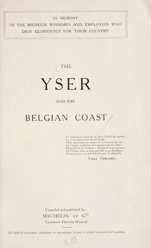 The Yser and the Belgian coast ... by