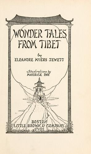 Wonder tales from Tibet by Eleanore Myers Jewett