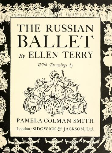 The Russian ballet by Terry, Ellen Dame