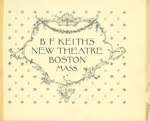 B.F. Keith's New Theatre. by