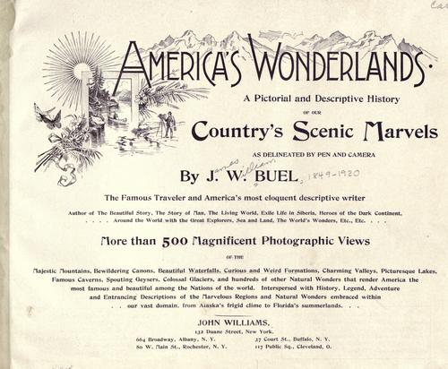 America's wonderlands by James W. Buel