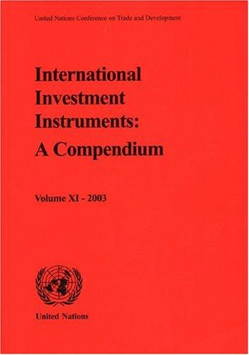 International Investment Instruments